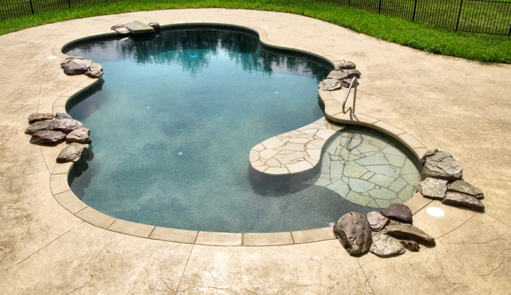 stamped concrete pool patio. Thill Concrete Projects - Contractors Stamped Patios Driveways Pool Patio