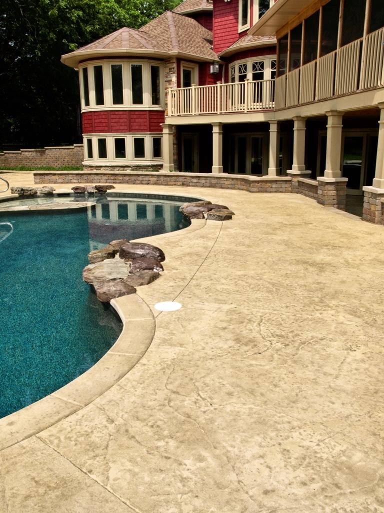 Thill Concrete Projects - Concrete Contractors Stamped Concrete ...